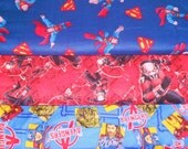 SUPER HEROS #21  Fabrics, Sold INDIVIDUALLY not as a group, by the Half Yard