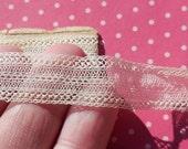 Antique Lace Vintage Lace Trim Silk Tulle Lace