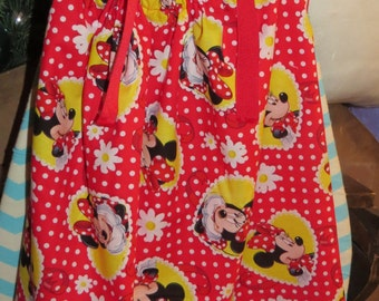 New handmade Minnie Mouse pillowcase dress size 4t
