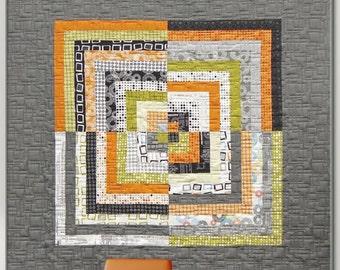 Reversible Zen Cabin lap quilt