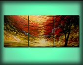 Art Canvas Acrylic Painting, Large Painting, Painting, Original Art, Wedding, Abstract Art, Abstract Painting, Wall Art 28 x 66