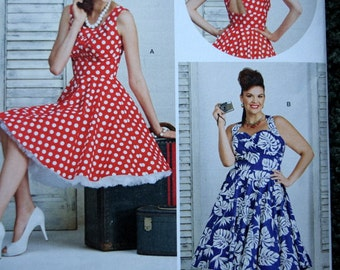 Simplicity 8051 Misses and Women's Dresses in size 10-18 (uncut)