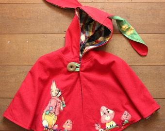 mr. rabbit bunny ear cape