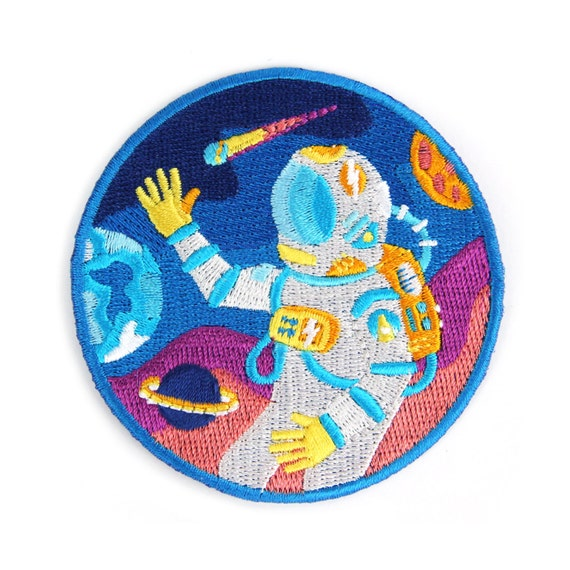 Outer space iron on patch for Outer space design richmond