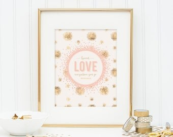Mother Theresa Printable - Spread Love