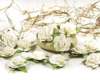 Prima Flowers- Fairytale Roses (White)