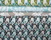 1/2 YARD Bundle - 5% OFF! Birch Farm, Barn Owl, Joel Dewberry, Free Spirit, Designer Cotton Quilt Fabric, Quilting Fabric