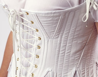 Custom Order Regency Long Transition Corset Upon Request