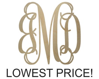 wooden monogram letters sale 18 inch ships in 1 week