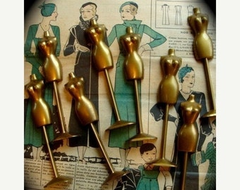 20PercentOff One Totally KQQL Vintage  Dressform  Mannequin for Assemblage or Altered Art