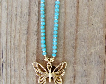 LILY LAMBERT Butterfly Necklace