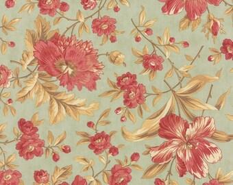 Green Mist Main Larkspur Fabric - 3 Sisters - Moda - 44100 14