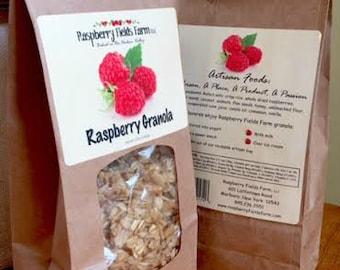 Raspberry Fields Farm Artisan Raspberry Granola