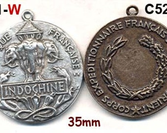 WW1 CAST REPRO of French Medal