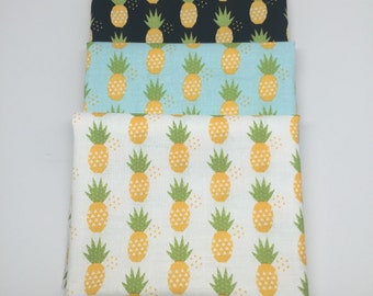 SALE - Fat Quarters (3) - Fresh Market - Pineapples - C5314 - Bella Blvd for Riley Blake Designs