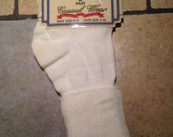 NEW White Anklet Socks