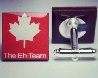 The Eh Team Cufflinks