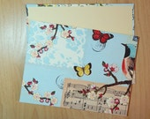 Butterfly Cottage Guest Book - Butterflies - Custom Book for Cindy