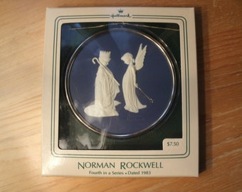 Dress Rehearsal Norman Rockwell Hallmark Christmas Ornament 1983