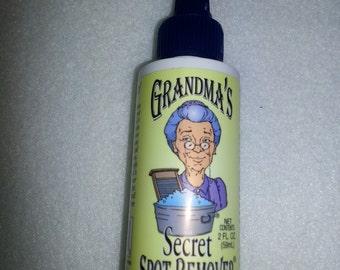 Grandma's Secret Spot Remover, 2 oz bottle (GSSR1001)