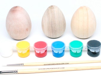 DIY Wooden Easter Egg Kit // Paint your Own Wooden Eggs Kit