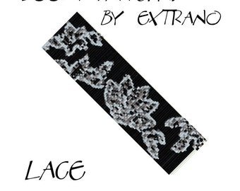 Loom bracelet pattern - LACE - 4 colors only