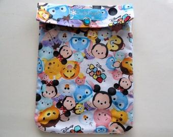 Tsum Tsum Ouch Pouch First Aid Baby Toddler Supplies Disney Cruise Trip Organizer Diaper Bag Insert Fish Extender Gift 5x7 Medium