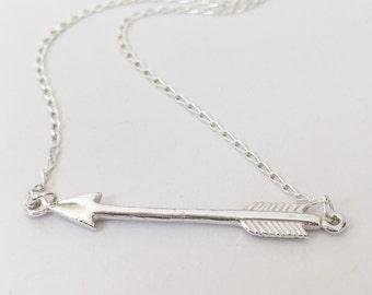 Sterling silver arrow