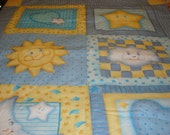 Baby Quilt~~ Over the Moon