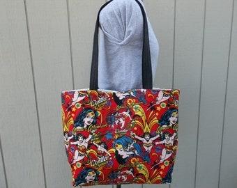 Wonder Woman Tote Shoulder Bag