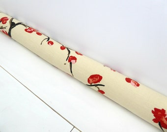 Door Draft Stopper - Unique Home Decor -  Door Snake - Modern Home Decor -Blossom Pattern.  A4110