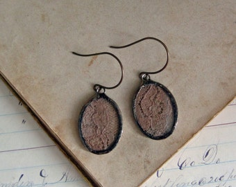 Vintage Lace Earrings