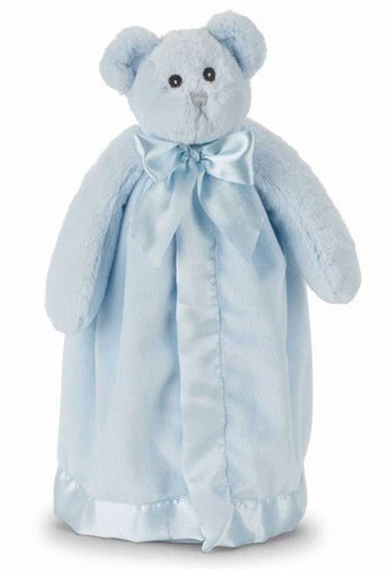 Snuggle Buddy Personalized Blue Bear