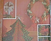 Pattern Holiday Christmas Home Decor Tree Cardinal Wreath Star Simplicity 8103 Ornaments Sew Sewing Handmade Heart Drum Stocking Angel