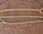 Antique French Pocket Watch Chain