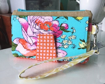 Design a custom Pearl Wallet Clutch | Handmade Wristlet Wallet