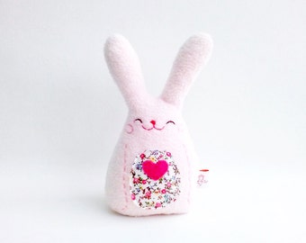 Bunny Miniature, Easter Rabbit, Easter Bunny, Office Decor, Plush Bunny, Bunny Softie, Rabbit Decor - Gift For Kids