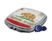 State Flag of California Compact Mirror