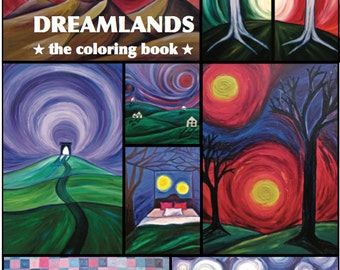 Dreamlands- The Coloring Book