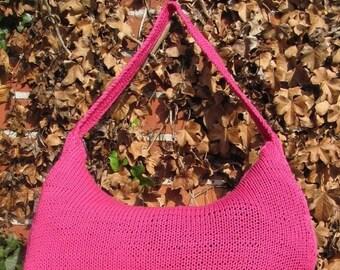 HALF PRICE SALE madmonkeyknits slouch bag pdf knitting pattern - Instant Digital File pdf download knitting pattern