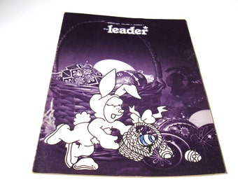 Vintage THE LEADER Magazine Scouts Canada Resource for Leaders, Teachers, Assistants March 1981 Egg-Mobile Crafts Water Safety Giant Gadgets