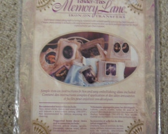 Tender-Tees Memory Lane Iron On Transfers