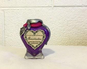 Amortentia, A Love Potion Bottle, Harry Potter Inspired Decoration or Prop