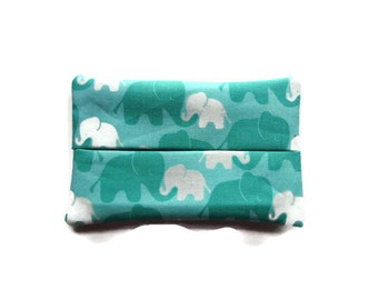 Fabric Elephant Tissue Holder