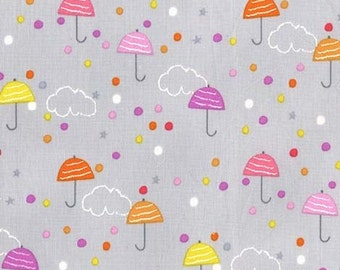 Michael Miller Fabric Drizzle in Mist, Choose your cut