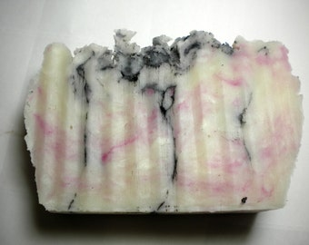 Black & Pink bar soap scented with licorice essential oil