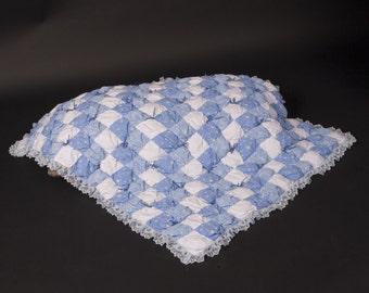 Blue Puff Quilt Kit