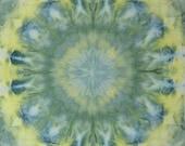 Lemon Quartz - Crystals Hand Dyed Fabric