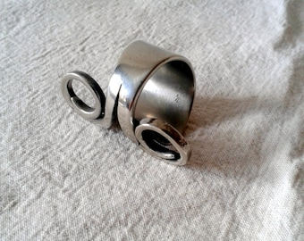 Upcycled ring size 9.5 - Fork handle ring
