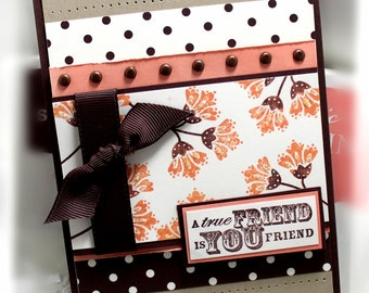 Stampin' Up Friend Card